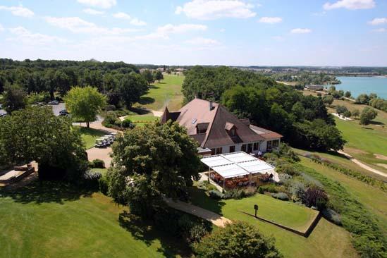 Golf du Haut-Poitou, le club house